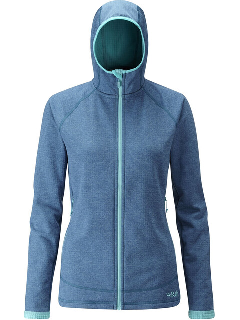 Rab Nucleus Hooded Jacket Women Blazon